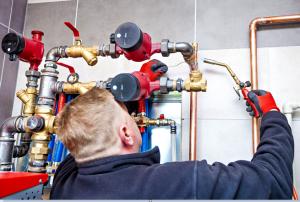 gas engineer pipe welding